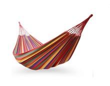Single Briziallian Fabric Hammock / cotton hammocks / with Stuff Sack