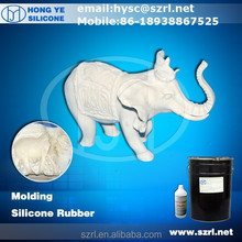 rtv 2 molding silicone rubber to make concrete statues molds for sale