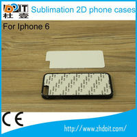 Hot sell 2d plastic sublimation phone case for ipad