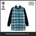 2015 nueva moda del estilo de corea mujeres abrigos de invierno, mujeres baratas venta al por mayor de fábricas de ropa en China