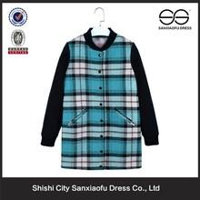 2015 New Korean Style Fashion Long Women Winter Coats, Wholesale Cheap Women's Clothing Factories In China