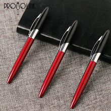 2015 alibaba advertising metal pen red fair/party/promotional ball pen