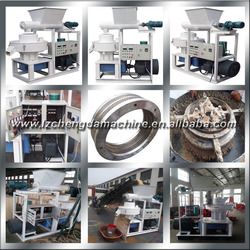 2014 Hot selling ring die fuel pellet machine with Auto Lubrication System