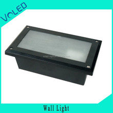 100*125*255mm 4w Outdoor Square white black Brown Silvery color CE ROHS FCC UL