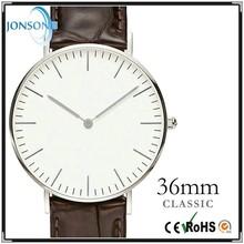 Ultra 6mm thin custom japan movt man minimalist branded watches distributors