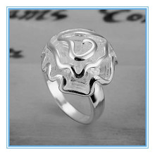 MECY LIFE Alibaba hot selling fashion cheap price flower-shaped woman vogue jewelry wedding rings