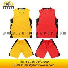 Low MOQ basketball warm up tops/team set basketball uniforms/cheap basketball kit