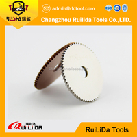High speed steel cutting helix blade for plain steel