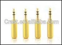 OEM copper 3.5mm 3 Pole Male Repair Earphones Jack Plug Connector Soldering