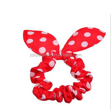 Classic hair accessories Rabbit Ear Shape Bowknot Shape Polka Cloth Hair Bands Headbands for Women/ Girls