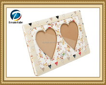 Heart shaped Popular HOT SALE Fashion design photo frame, OEM available