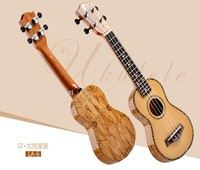 21&24inch musical instrument high quality electrical ukulele