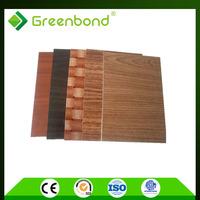 Greenbond protective aluminium sheet uses aluminium composite panel outdoor cladding