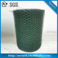 High quality galvanized hexagonal netting / hexagonal wire mesh / chicken mesh