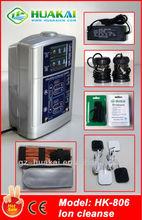2014 Hot Sale Vertical model HK-806 ion cleanse detoxify foot spa device