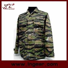 Tactical army Tiger Stripe Camo Office Uniform best fabrics uniform
