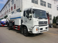 Bottom price antique dongfeng diesel sewer suction truck