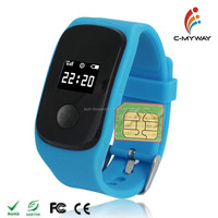 Kids GPS Tracking Position Android 4.0 Kids GPS Smart Watch Phone With SOS LBS