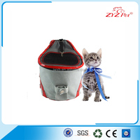 pet cat carrier backpack round shape grey color factory price OEM and ODM