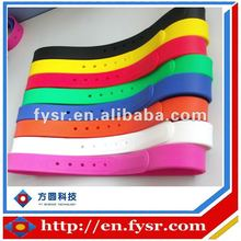 Fashion colorful Silicone Belt 24 Colours with a interchangeable buckle