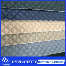 Taffeta quilted lining/190T polyester taffeta quilted fabric