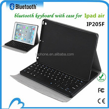 Top best selling bluetooth backlit keyboard for ipad air case with keyboard