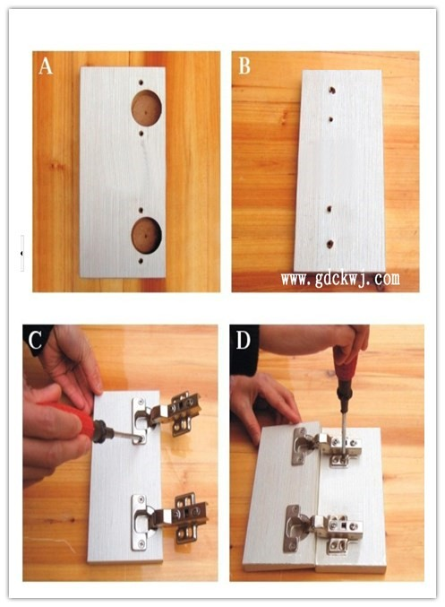 Meubles Quincaillerie D'armoires de Cuisine Charnière De Porte Avec LED Lumière