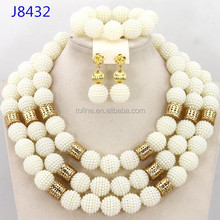 2015 good price high quality fashion jewelry made in china wholesale beige coral beads jewelry