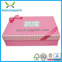 Custom Paper Gift Packaging Box For Clothes, Cardboard Packaging Box