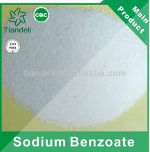 high purity sodium benzoate pharmaceutical grade for dyeing
