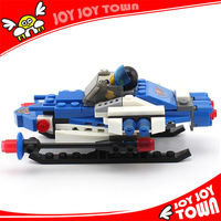 promotional items china plastic toy blocks technics building brick spaceship spaceplane DIY puzzle plastic assembly toy 32001