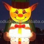 Inflatable Illuminated Elf Parade Balloon for advertising and promotion