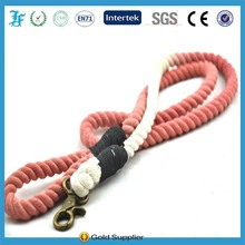 Soft round braided Polyester rope Dog Leash,Collars & Leashes,pet product