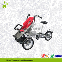 Safety Baby Stroller Bike Bicycle Carrier With 3 Wheels