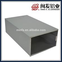 Material de aluminio de construcción muro cortina
