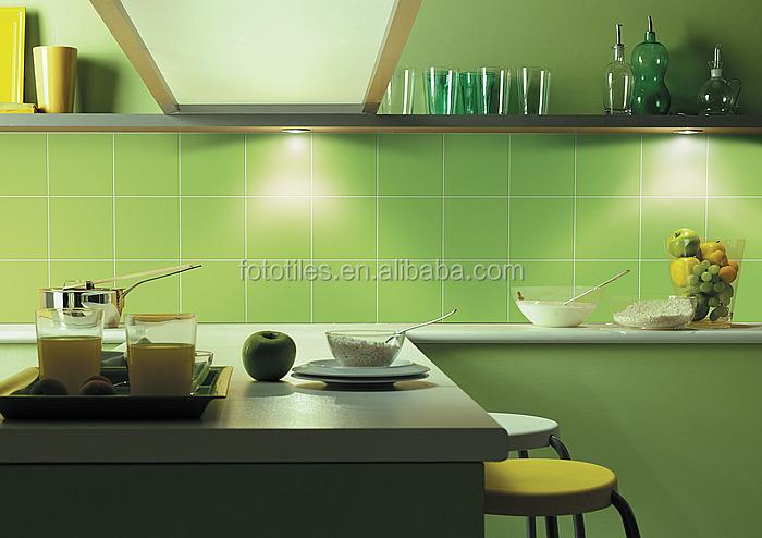 Moderne keuken ontwerp foshan keramische tegels 20x20cm donker ...