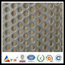0.65mm Aluminium Round Perforated Metal Mesh For Filter of Auto Gas Engine