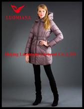 2015 Designs european women fashion down jackets for winter China online shopping