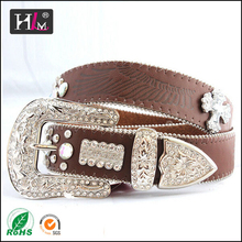 2015 New Design The United States women belts with crystals with CE RoHS LFGB