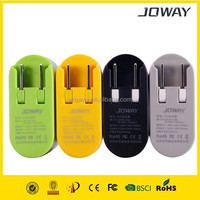 Joway Jc05 12w/2.4a Coin-width Dual Port (2a/1a) Wall Charger Portable Travel Charger Ultra Compact Light Weight