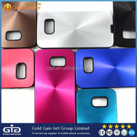 Cell Phone CD Grain TPU Case For Samsung For Galaxy S6 Metal Cover