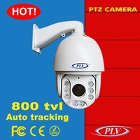 Low price 800tvl cmos cctv analog intelligent ir high speed dome auto motion tracking ptz camera