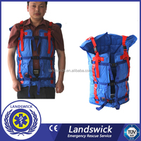 Emergency rescue equipment folding spine board CE ISO
