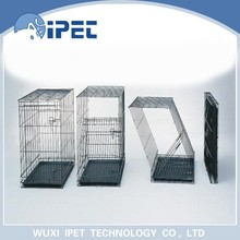 Ipet economic foldable metal solid display pet crate kennel for dogs