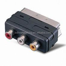 scart to AV adapter audio video adapter