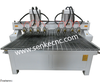 multi head cnc router lathe wood milling engraving drilling machine/woodworking/CE ISO/cheap sale ving