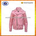 Los niños de encargo chaqueta de cuero para las niñas/de cuero de la pu chaqueta de los niños para venta al por mayor