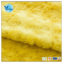 PV Plush Toy Fabric Price,Velboa Plush Fabric for Stuffed Animal,100% Polyester Plush Fabric for Making Soft Toys