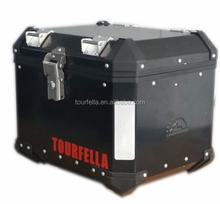 Tourfella motorcycle aluminum helmet box / 40L topcase aluminum waterproof