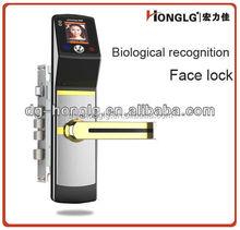 Smart card + recognition face +password(keypad) family door lock HF6618
